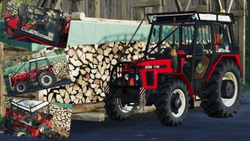 Zetor 7745 Forest Mod fs19