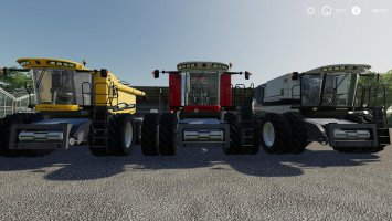 AGCO Rotary Combines Pack fs19