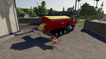 Bredal Hooklift Fertilize spreader