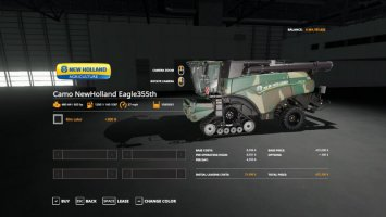 Camo New Holland Eagle355th Pack fs19