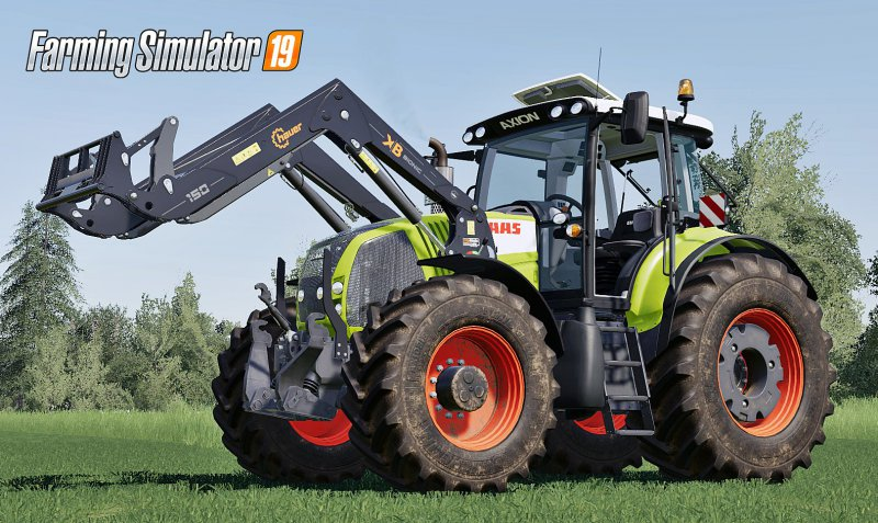 Claas Axion 800 Series (First generation) v2 FS19