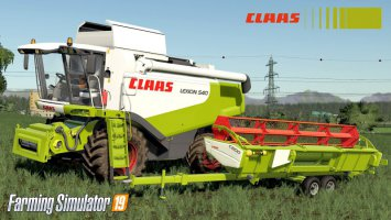Claas Lexion 530-540 SERIE fs19
