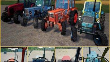 Domestic tractors Rus Paсk V 1.0 fs19