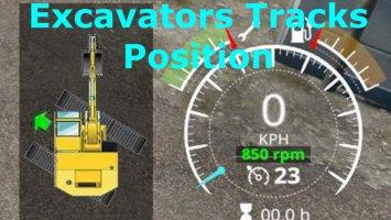 Excavators Tracks Position v1.1