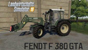 Fendt F 380GTA v1.0.0.2 fs19