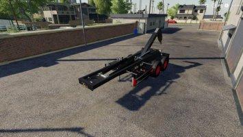 Hooklift Semi-trailer