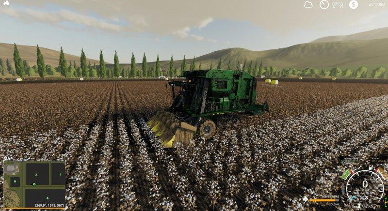 John Deere 7760 Cotton Baler FS19