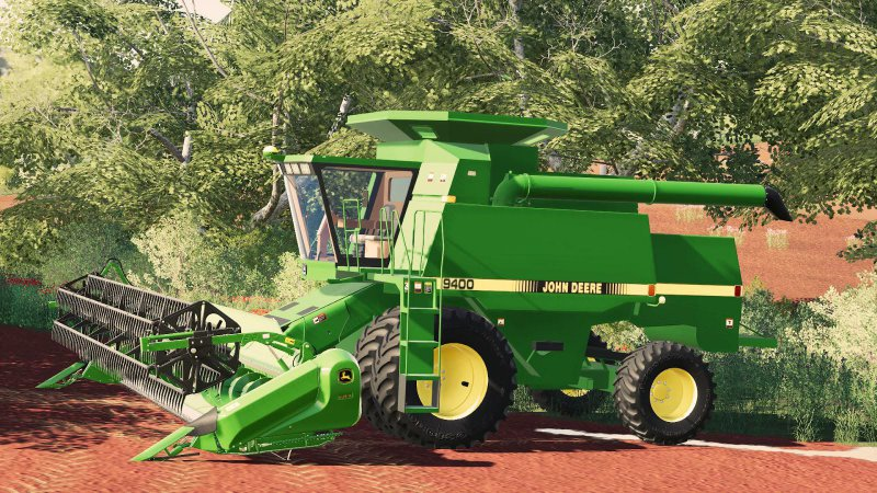John Deere 9xxx Series Combine - FS19 Mod   Mod for Farming