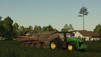 John Deere Logging Trailer v1.19