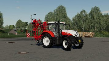 Kuhn GF8702 with ground adaptation
