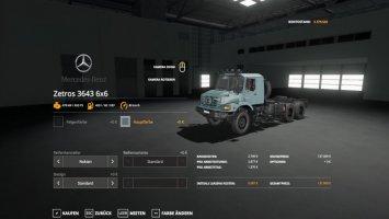 Mercedes Zetros 3643 6x6 V2 Finish