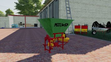 Motyl NO31M fertilizer spreader fs19