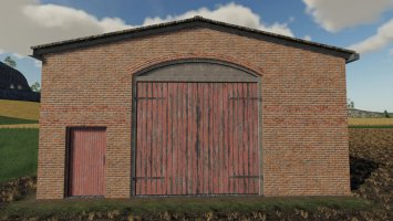 Multi Purpose Barns With Red Doors fs19