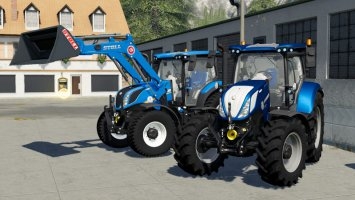 New Holland T6 BluePower Configurable fs19