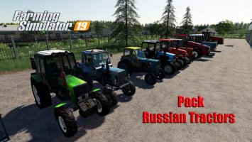 Pack Russian Tractors