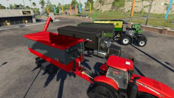 Peecon hooklift Auger Container fs19