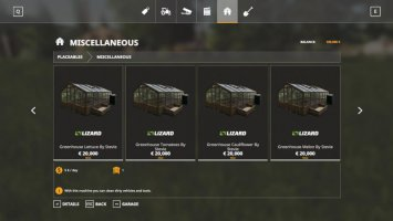 Placeable Greenhouse set by Stevie fs19
