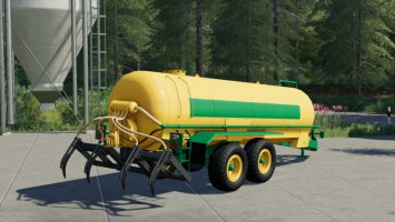 Slurry Tanker 14 with injector