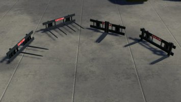 Stoll Pallet And Bale Fork fs19