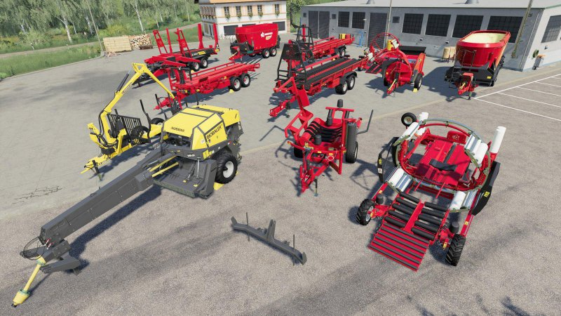 Anderson Group Equipment Pack - FS19 Mod | Mod for Farming Simulator