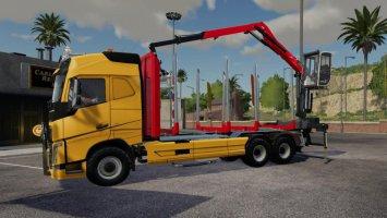 Volvo FH16 750 wood v1.7.0.0