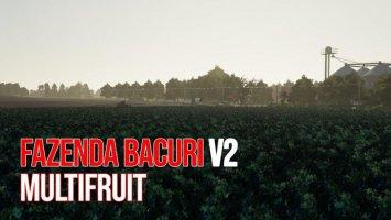 FAZENDA BACURI MULTIFRUIT v2.0