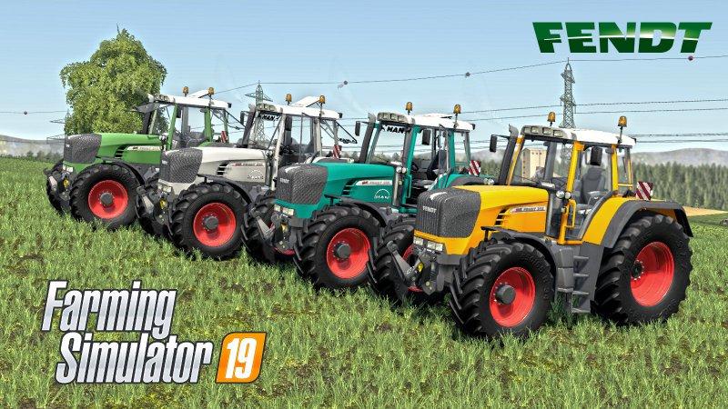 Fendt 900 Vario TMS V2 FS19
