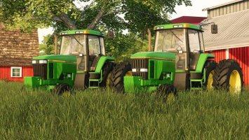 JOHN DEERE 7000-7010 SERIES 2WD
