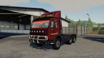 KAMAZ 53212 & TRAILER V 1.0 fs19