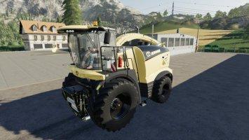 Krone BigX 1180 by FLMX fs19