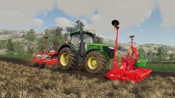 Kuhn HR4004 front powerharrow fs19