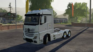 Mercedes-Benz Actros MP4 1845 6x4 fs19