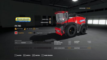 New Holland FR 780 MultiColor fs19