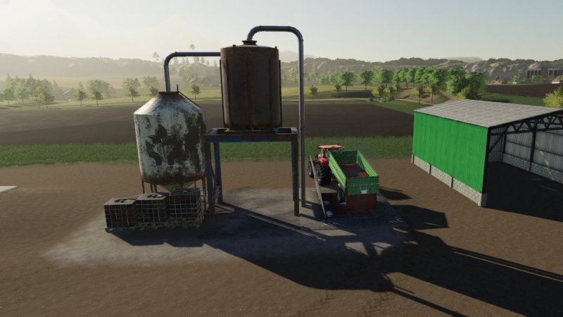 Placeable Storage Silo v1 1 - FS19 Mod | Mod for Farming