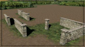 Placeable Walls fs19