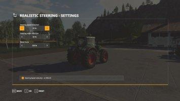 Realistic Steering