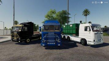 Scania 143M hooklift