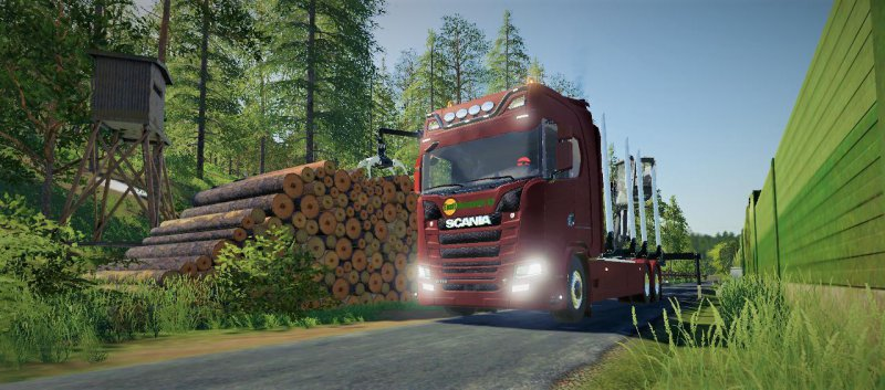 SCANIA R730 V2 1 - FS19 Mod | Mod for Farming Simulator 19