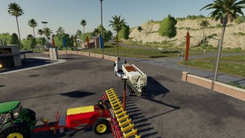 Seed express 1260 two Filltypes v.2 FS19