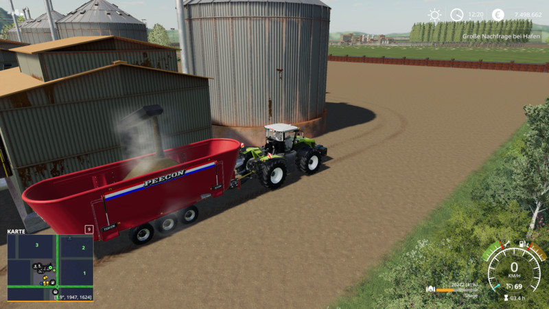 Silage production v1 0 0 1 - FS19 Mod | Mod for Farming Simulator 19