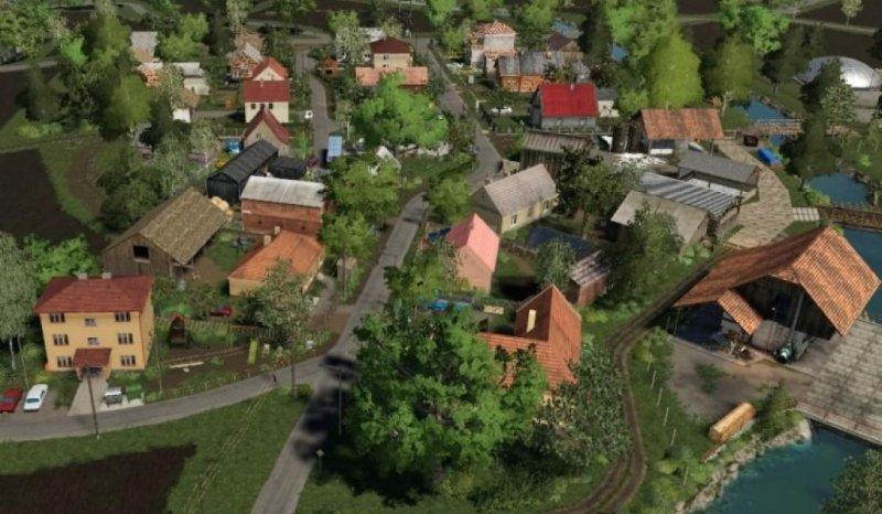 Chocholovo Slovakia Map - FS19 Mod | Mod for Farming