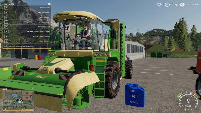 Def Pack (FS19 AdBlue) - FS19 Mod | Mod for Farming Simulator 19