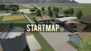 EMPTY MAP - START MAP v2 fs19
