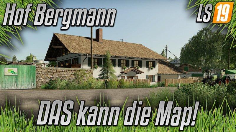 LS19 Hof Bergmann Map v1.0.0.2 FS19