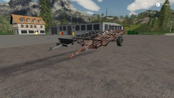 Hungarian Homemade Bale Trailer Pack fs19