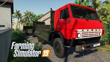 KamAZ-4310 and NefAZ-8560 V1.1 fs19
