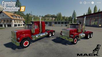 Mack Daycab and Mack Sleeper Truck
