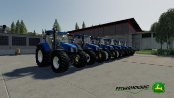 New Holland T6 Autocommand fs19
