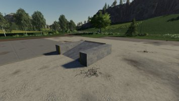 Placeable Concrete Ramp