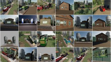 Placeable Objects Mods Pack fs19